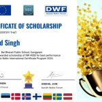 Angad Singh, IV H